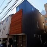 西早稲田の住宅